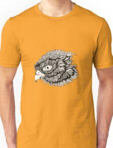Black and white eagle, hand drawn Unisex T-Shirt
