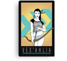 Vox Pajama: Vex'ahlia Canvas Print