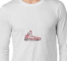 Jordan Spizike shoe/sneaker word art Long Sleeve T-Shirt