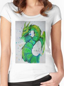 Thunder Dragon (Yu-Gi-Oh!) Women's Fitted Scoop T-Shirt