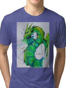 Thunder Dragon (Yu-Gi-Oh!) Tri-blend T-Shirt