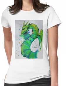 Thunder Dragon (Yu-Gi-Oh!) Womens Fitted T-Shirt