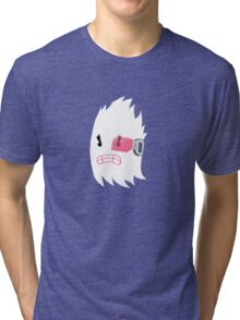 Little Ghost 07 Tri-blend T-Shirt