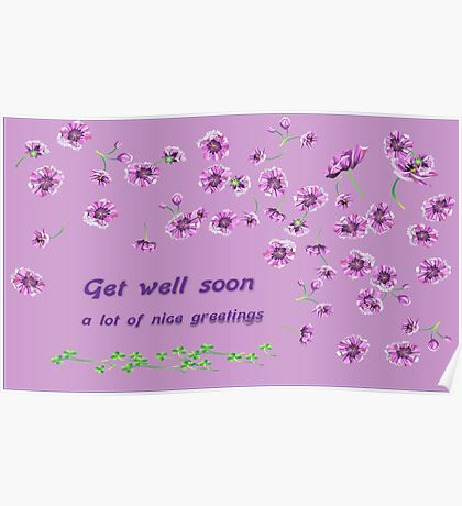 Health greetings Poster