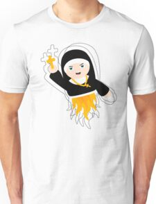 Nun with Superpowers! Unisex T-Shirt