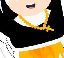 Nun with Superpowers! Sticker