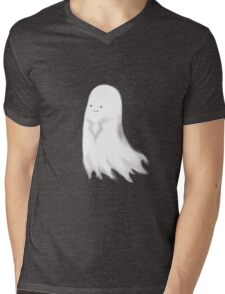 Little Ghost 04 Mens V-Neck T-Shirt