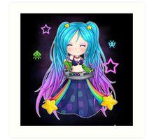 Sona chibi - League of Legends Art Print