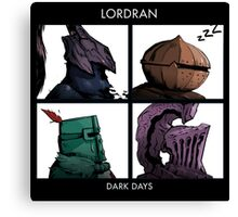 Bros of Lordran Canvas Print
