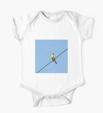 Black-headed Bunting on Lesvos One Piece - Short Sleeve