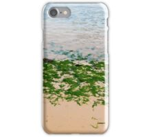 Youghal bright green seaweed iPhone Case/Skin