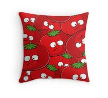 Tomato Bakuha Throw Pillow