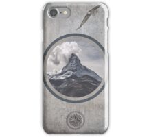 Where eagles fly iPhone Case/Skin