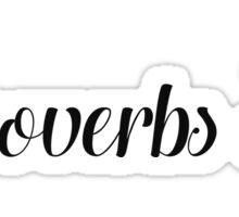 Proverbs 30 Sticker
