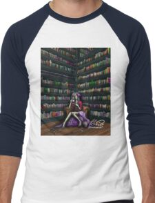 The Ghoul in the Study Men's Baseball ¾ T-Shirt