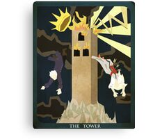 Percy- The Tower Canvas Print