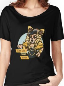 Kim Chi That Walk Women's Relaxed Fit T-Shirt
