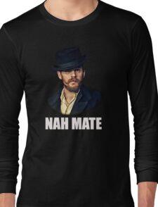Alfie Nah Mate - White Long Sleeve T-Shirt