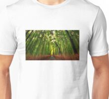 Bamboo Forest Unisex T-Shirt