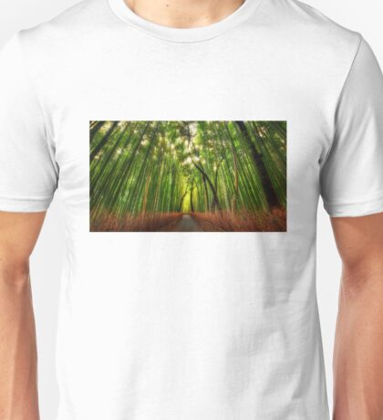 Bamboo Forest Unisex T-Shirt