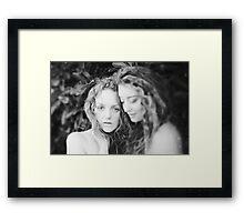 Ivory and Ella Framed Print