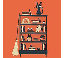 Ghibli shelf Photographic Print