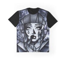 Black and White Couture Graphic T-Shirt
