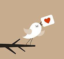 Bird of love by Aleksander1