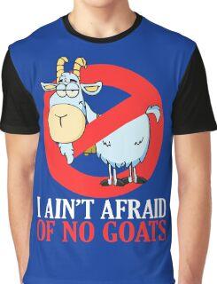Bill Murray -  I Ain't Afraid of No Goat Graphic T-Shirt