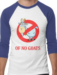 Bill Murray -  I Ain't Afraid of No Goat Men's Baseball ¾ T-Shirt