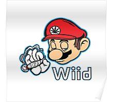 Mario - Plain White Variant Poster