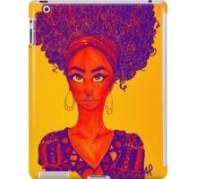 Black Woman Power  iPad Case/Skin