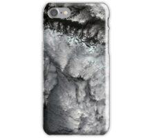 Glacier Bay National Park Clouds Alaska Satellite Image iPhone Case/Skin