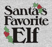 Santas Favorite Elf One Piece - Long Sleeve
