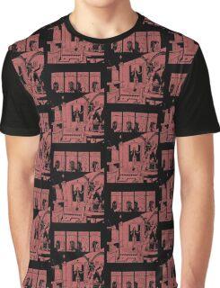 Noir Comic Design Graphic T-Shirt