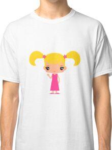 Cute Emma waving - Hello World - Classic T-Shirt
