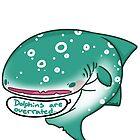 Angry whaleshark by mizkatt