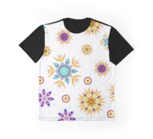Abstract floral seamless pattern design Graphic T-Shirt