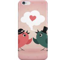 Bird of love iPhone Case/Skin