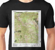 USGS TOPO Map California CA Blue Nose Mountain 100296 1994 24000 geo Unisex T-Shirt