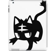 Litten Black iPad Case/Skin