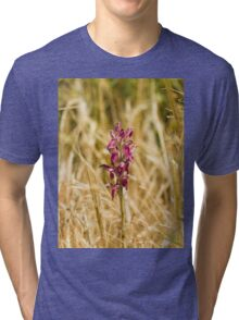 Holy Orchid on Lesvos Tri-blend T-Shirt