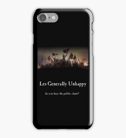 Les Generally Unhappy- a new musical iPhone Case/Skin