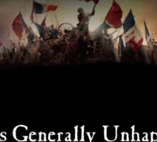 Les Generally Unhappy- a new musical Sticker