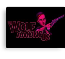 The Wolf Among Us - Logo and Bloody Mary Canvas Print