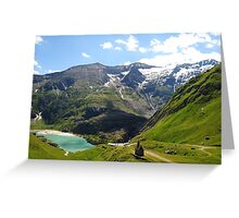 Tyrolean Alps Greeting Card