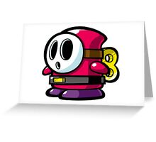Shy Guy Greeting Card