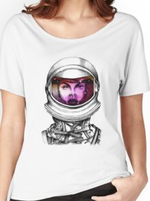 Intergalactic space woman Women's Relaxed Fit T-Shirt