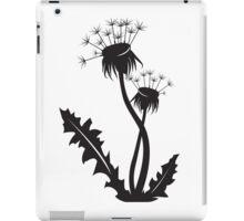 Dandelion silhouette iPad Case/Skin