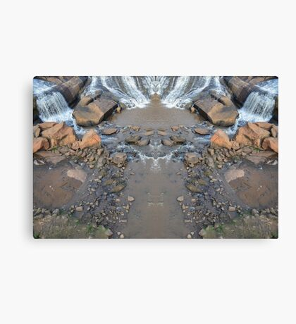 Mirror Falls Canvas Print